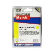 Картридж C4838A (11) Yellow для HP DJ 1700, 2200, 2230, 2250 (29 ml), MyInk