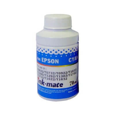 Чернила Ink-mate EIM-100C пигментные для Epson Dura, Cyan, 70 gr