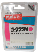 Картридж 655 Magenta для HP Deskjet Ink Advantage 4615, 4625, 3525, 5525, CZ111AE, 14,6 ml, MyInk