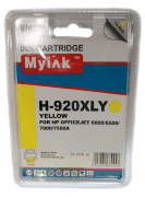 Картридж 920XL Yellow для HP OfficeJet 6000, 6500, 7000, CD974A, 14,6 ml, MyInk